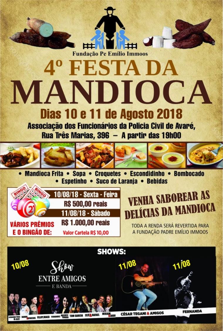 4º Festa da Mandioca