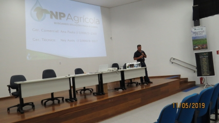 Palestra - Novas tecnologias empregadas em nutrição vegetal