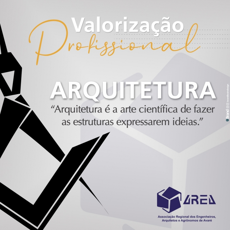Valorização Profissional - ARQUITETURA