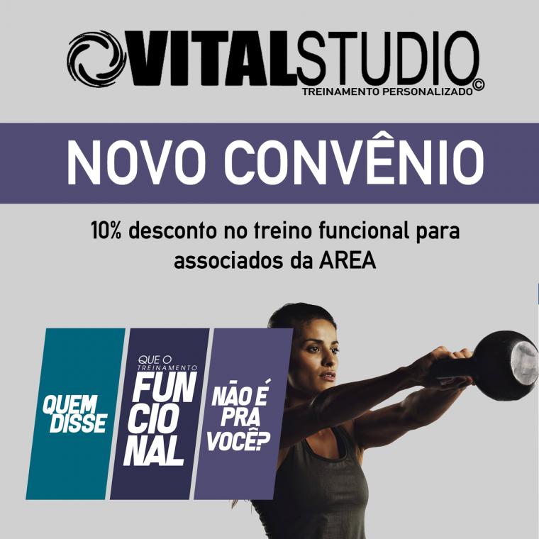 Novo convênio - VITAL STUDIO