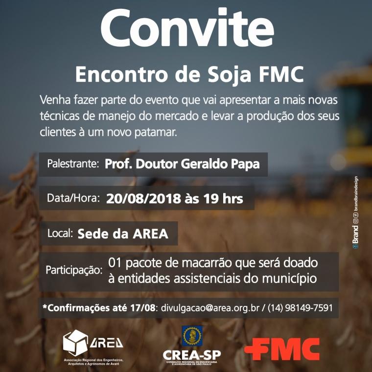 CONVITE - Encontro de Soja FMC