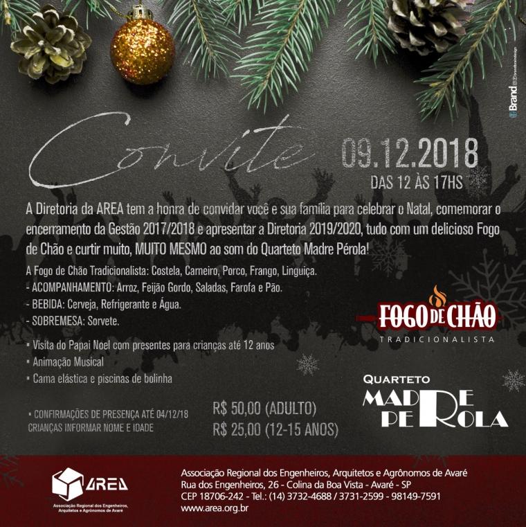 Celebre o Natal com a AREA!