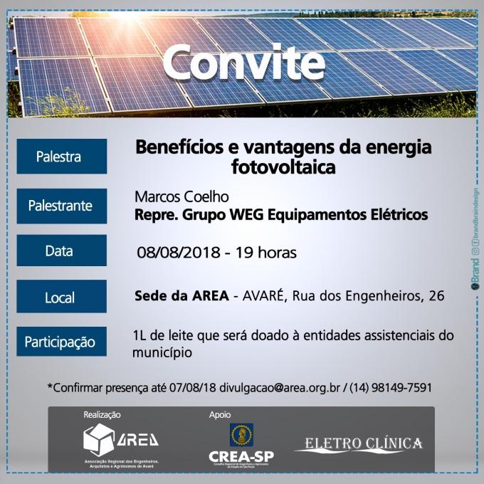 Palestra Soluções em energia solar