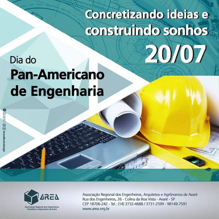 Dia do Pan-Americano de Engenharia - 20/07