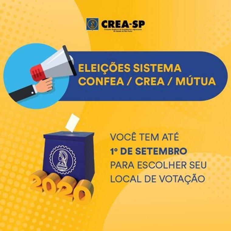 Eleições Sistema CONFEA/CREA/MÚTUA