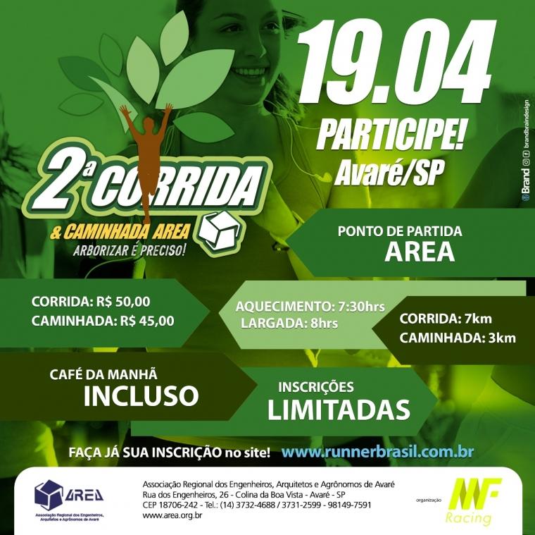 2ª Corrida & Caminha AREA