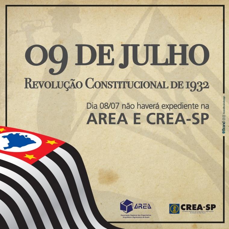 09 de julho - Revolução Constitucional 1932