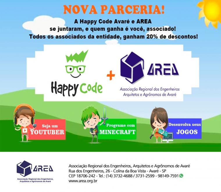 Nova Parceria - Happy code