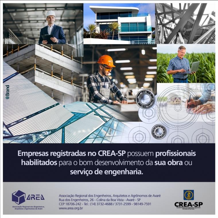 Empresas Registradas CREA-SP