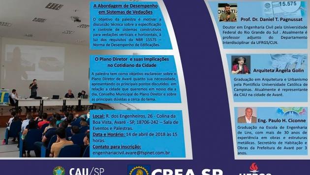Curso de Engenharia Civil.