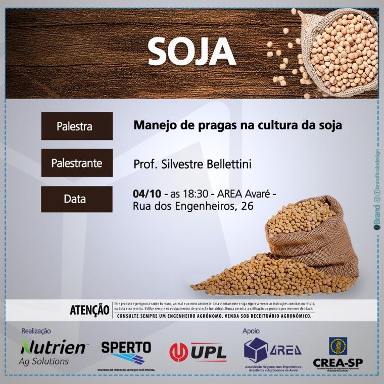 Palestra - Manejo de pragas na cultura da soja
