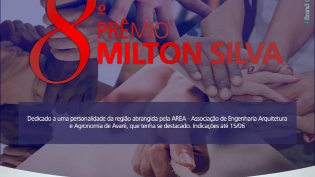 Abertas as indicações para a  8ª Edição do Prêmio Milton Silva