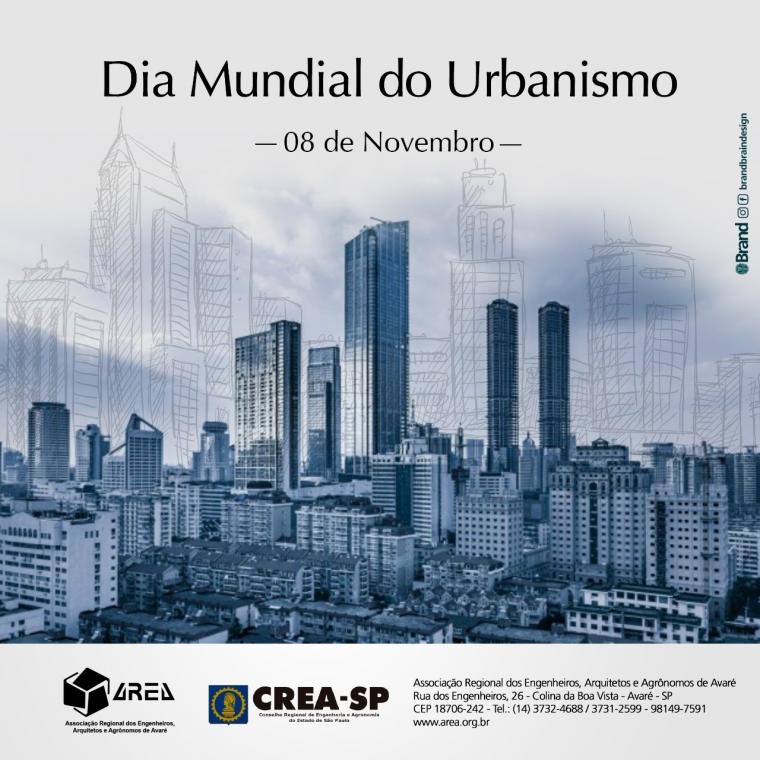 Dia Mundial do Urbanismo - 8 de Novembro
