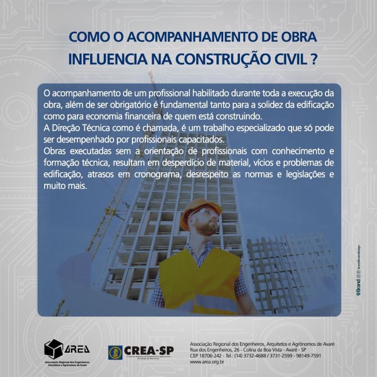 Como o acompanhamento de obra influência na construção civil!