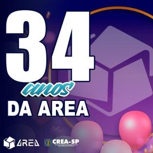 34  anos da AREA