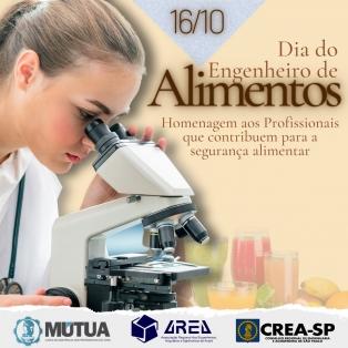 Dia dos Engenheiros de Alimentos