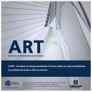 ART - Anotação de Responsabilidade Técnica