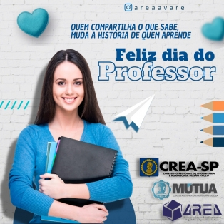 Feliz dia do Professor.