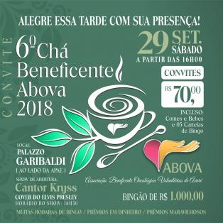 Chá beneficente ABOVA 2018
