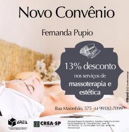 ESTETICISTA Fernanda Pupio
