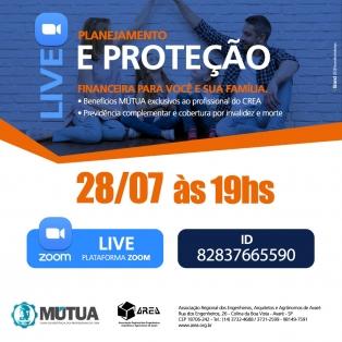 LIVE - Planejamento e Proteção 28/07