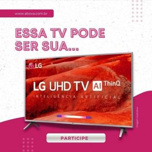Essa tv pode ser sua!